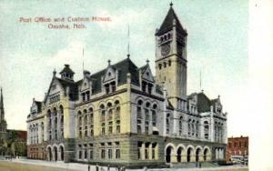 Post Office and Custom House Omaha NE 1909