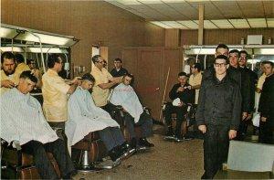 CA, San Diego, California, Naval Training Center, Recruits getting first haircut