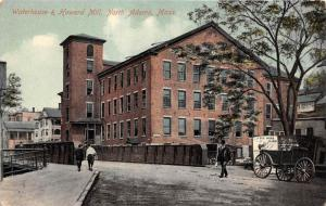 Massachusetts  North Adams,  Waterhouse and Howard Mill,