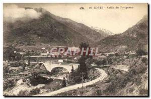 Postcard Old Corte Vallee du Tavignano Corsica Corse