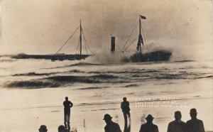 RP: MARSHFIELD  , Oregon , 1910 ; Shipwreck of CZARINA