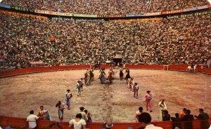 Mexico - Mexico City. Opening Parade at Bullfight