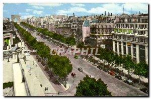 Modern Postcard Paris Champs Elysees