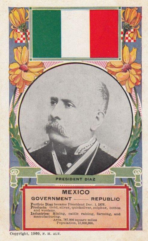 President Diaz , Mexico , 1909