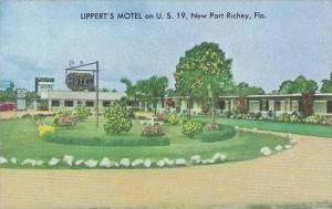 Florida New Port Richey Lipperts motel And Restaurant
