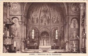 Interieur De La Cathedrale, AGEN (Lot-et-Garonne), France, 1910-1920s