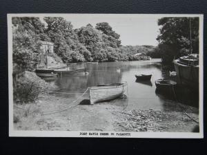 Cornwall FALMOUTH Port Navis Creek - Old RP Postcard