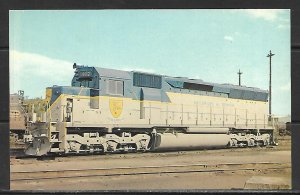 Delaware & Hudson Locomotives Trains - [MX-485]