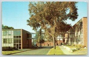Des Moines Iowa~Drake University~Fitch-Harvey Ingham Halls~Stadium~1954