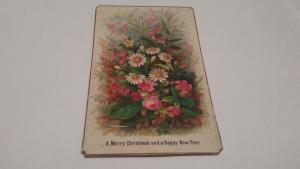 1874 CHRISTMAS POSTCARD $25 OR BEST OFFER