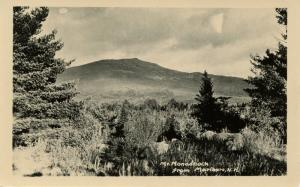 NH - Marlboro. Monadnock Mountain