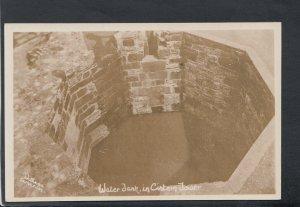 Wales Postcard - Water Tank in Cistern Tower, Carnarvon Castle?   T7845