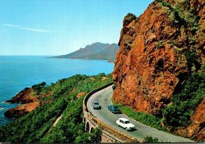 France Cannes Red Rock Of Esterel