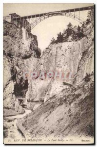Old Postcard Approx Briancon Le Pont Baldy
