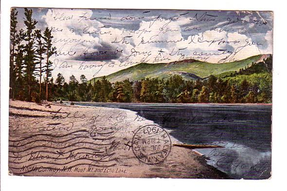 Moat Mountain, Echo Lake, North Conway, New Hampshire, Chisholm Bros