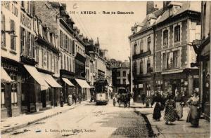 CPA AMIENS - Rue de Beauvais (515562)