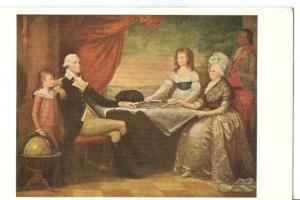 Portrait of the Washington Family, by Edward Savage Postcard