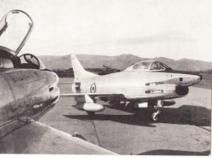 Fiat G-91R, unused Postcard
