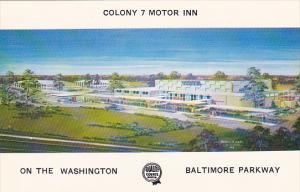 Maryland Baltimore Colony 7 Motor Inn