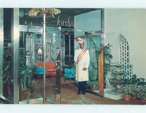 Pre-1980 KASBAH COCKTAIL LOUNGE RESTAURANT AT HILTON HOTEL Cincinnati OH c0553