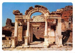 Turkey Hadriyan Mabedi Porticoe of The Temple of Hadrian Efes,,,