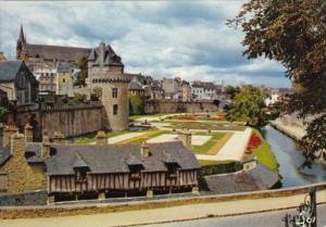 France Vannes Les Remparts et la tour de Connetable