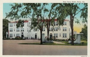 PERRY, Georgia, 1930-40s; New Perry Hotel