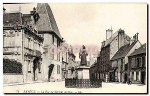 Old Postcard Bayeux Rue du General de Dais