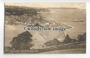 tq0555 - Devon - Early View down onto Teignmouth, from Torquay Road - Postcard