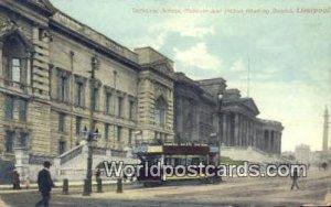 Museum & Picton Reading Rooms Liverpool England, UK of Great Britain Unused
