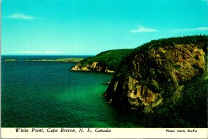 White Point Cape Breton NS Canada Postcard unused 1960s