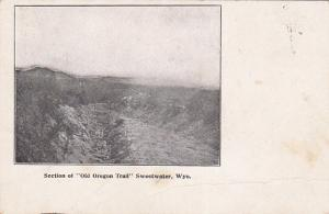 Section of Old Oregon Trail Sweetwater, Wyoming, 00-10s