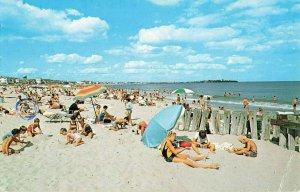 Postcard Hampton Beach New Hampshire Posted 1971