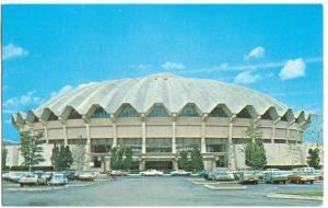USA, The Coliseum, West Virginia University, Morgantown, 1973 used Postcard