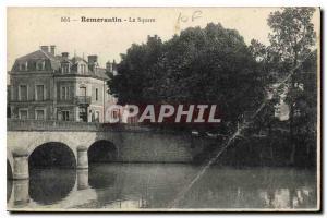 Postcard Old Remerantin The Square
