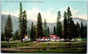 1910s YOSEMITE National Park CA Postcard HOTEL WAWONA View Mitchell Unused