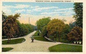 VT - Bennington. Monument Avenue