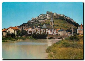 Modern Postcard Saint Flour Cantal Overview Uptown and Faubourg