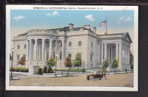 Memorial Continental Hall,Washington,DC Postcard