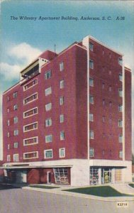 The Wilmary Apartment Building Anderson South Carolina