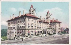 Colorado Colorado Springs Antlers Hotel 1910