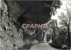 Postcard Modern Sites and Monuments Perigord Les Eyzies Gorge hell Basically ...