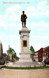 Maryland Baltimore Watson Munument