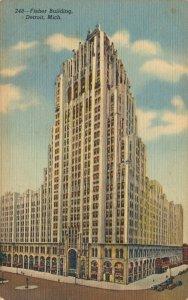 USA Fisher Building Detroit Michigan 04.94
