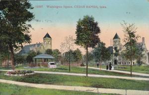 Washington Square, Cedar Rapids, Iowa, PU-1912