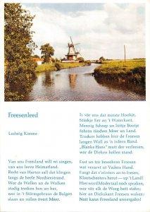B108584 Netherlands Freesenleed Ludwig Kimme Mill River real photo uk