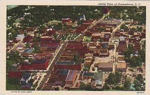 South Carolina Orangeburg Aerial View Curteich