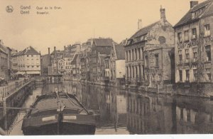 GAND , Belgium , 00-10s ; Quai de la Grue