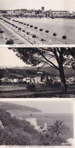 Serra da Arrabida Portugal Vintage Aerial RPC Postcard