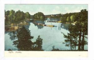 View of Village & Harbor,Saffle, Sweden 1900-10s